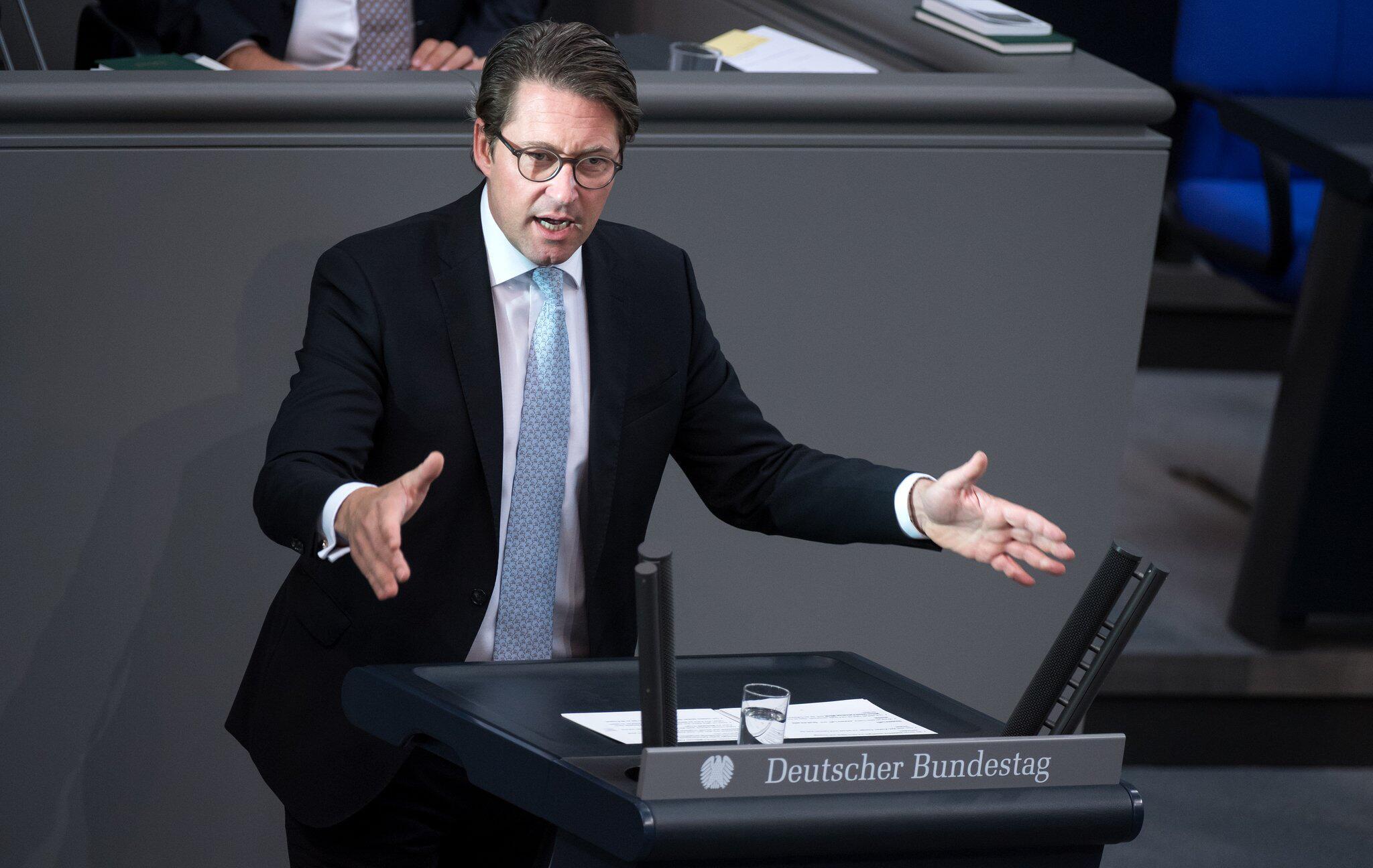 Bild zu Bundestag, Andreas Scheuer