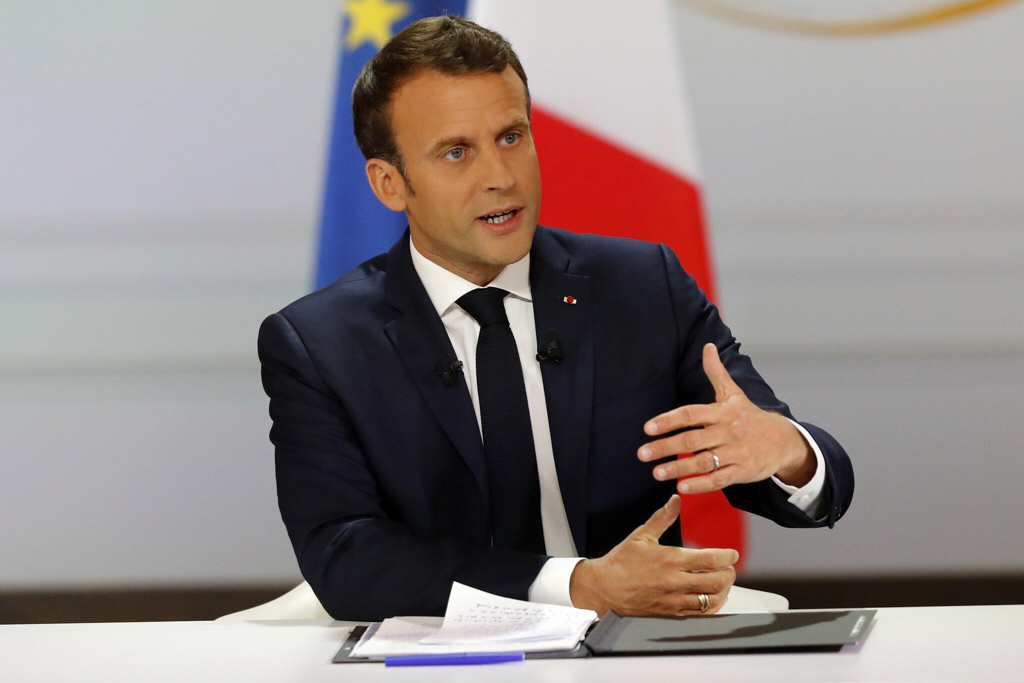 Bild zu Macron zu Reformplänen