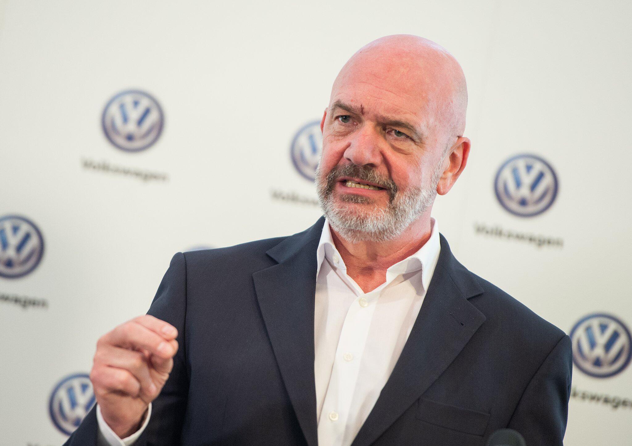 Bild zu Pressekonferenz Volkswagen