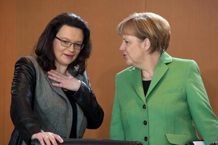 Merkel und Nahles