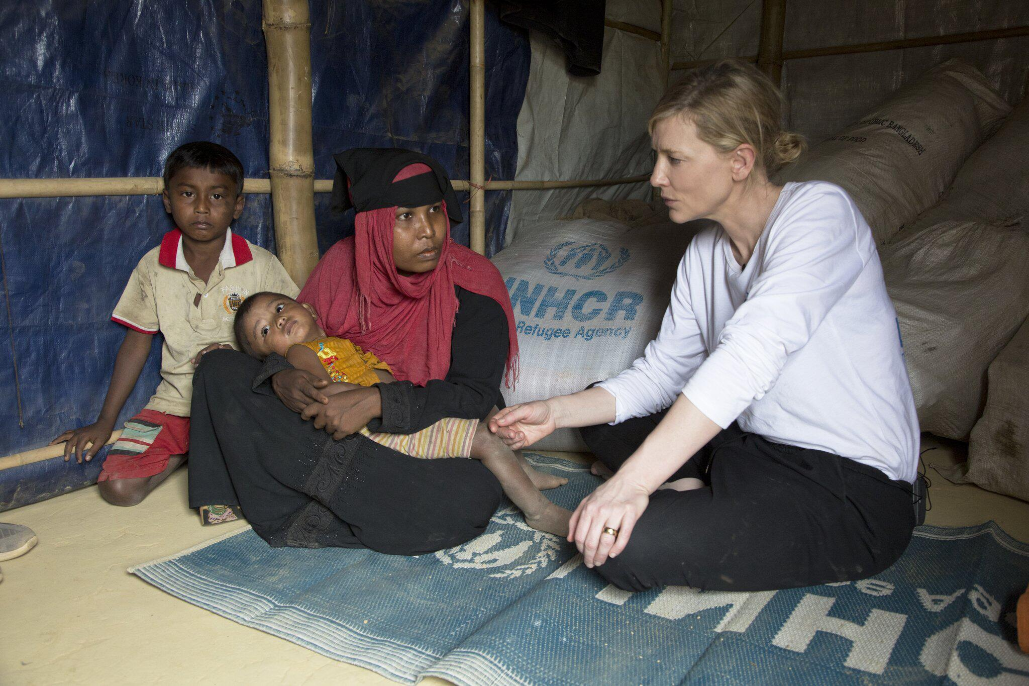 Bild zu Cate Blanchett in Bangladesch