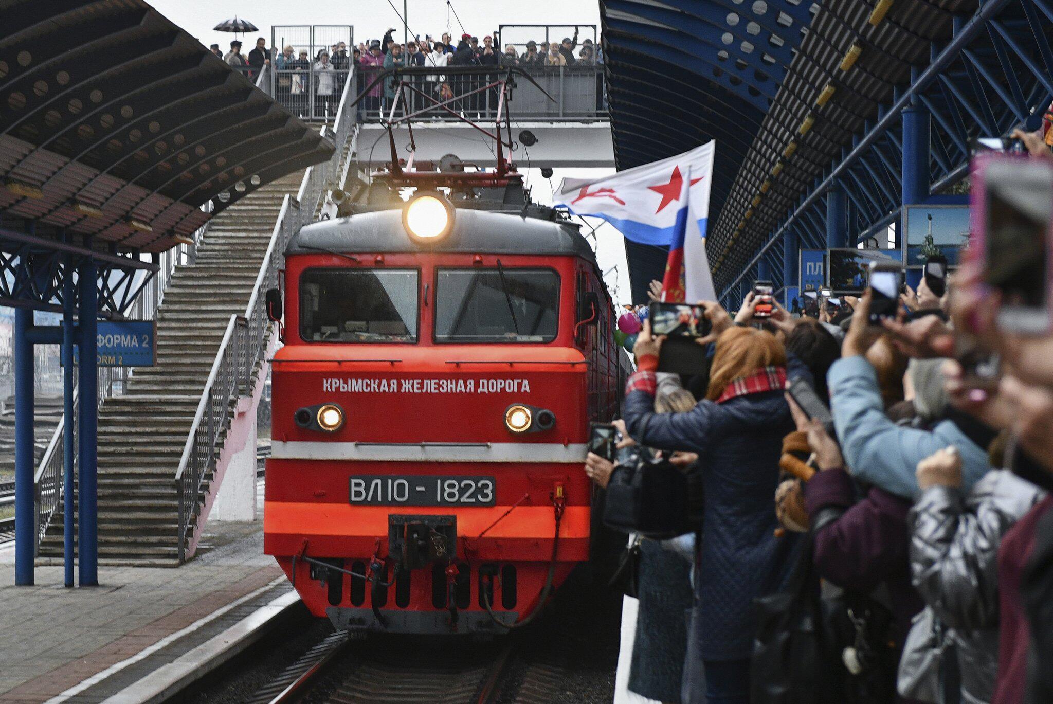 Bild zu Strafverfahren der Ukraine gegen ersten russischen Zug auf Krim