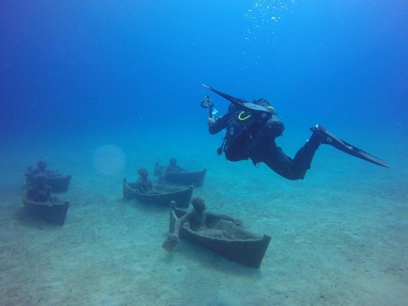 Bild zu Unterwasser-Museum