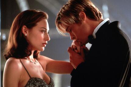 Brad Pitt, Freundin, Claire Forlani