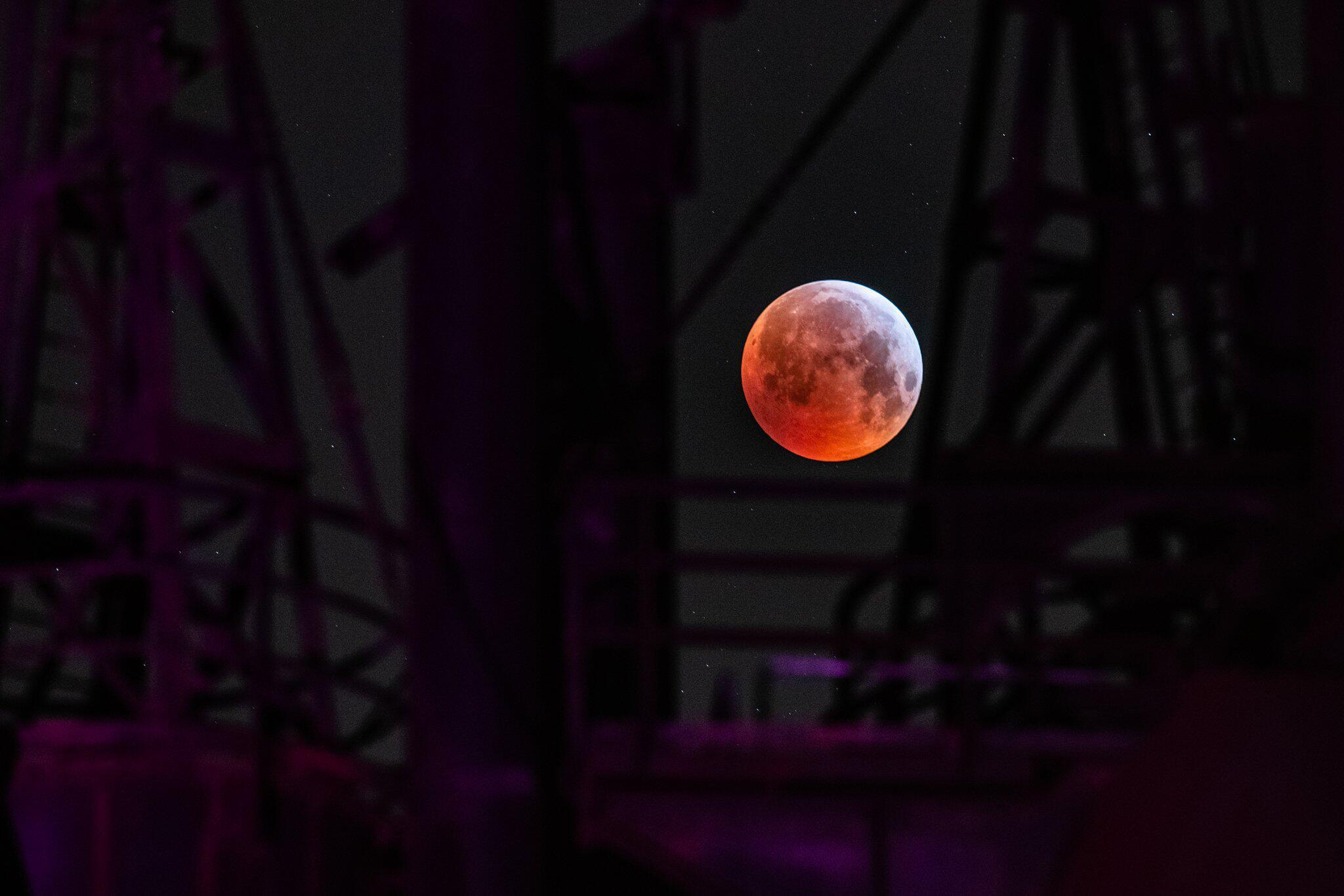 Bild zu Totale Mondfinsternis - Nordrhein-Westfalen