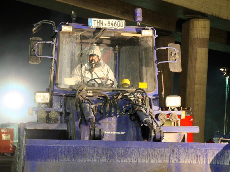 Bild zu Unfall eines Gefahrguttransporters