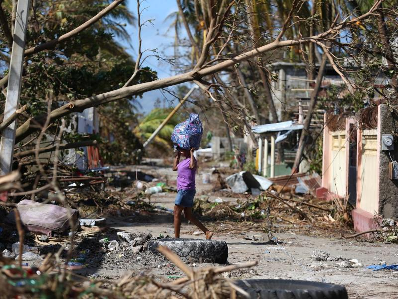 Bild zu Nach dem Hurrikan