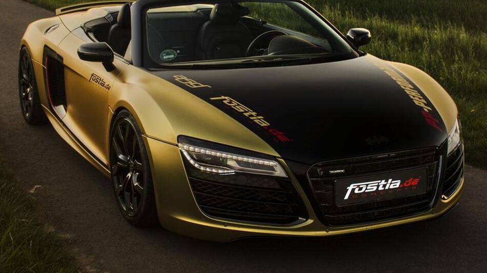 Audi R8 V10 Spyder von fostla.de