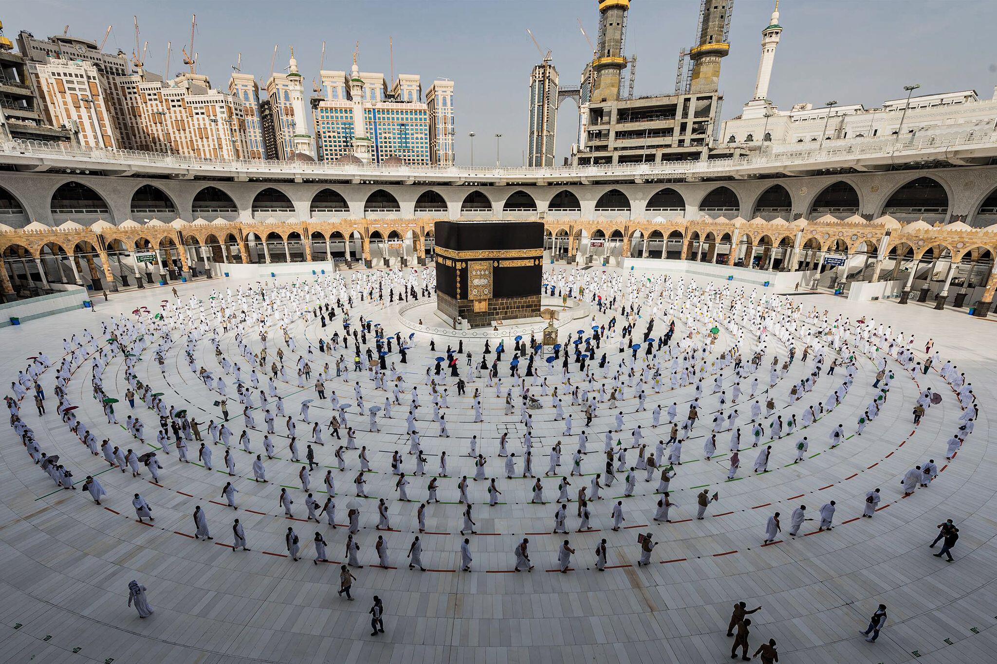 Bild zu Coronavirus - Wallfahrt Hadsch in Saudi-Arabien