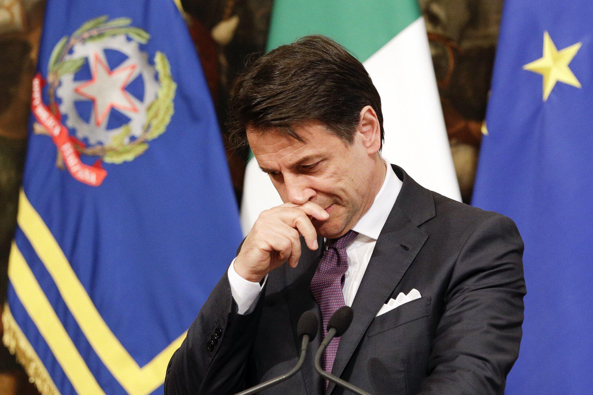 Bild zu Italiens Regierungschef Conte droht mit Rücktritt
