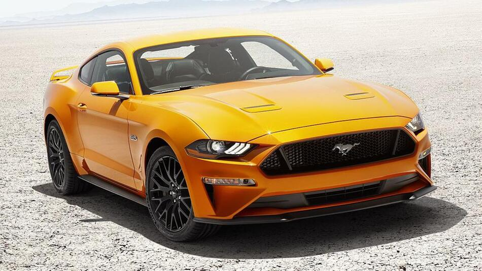 Ford Mustang V8 GT mit Performace-Pack