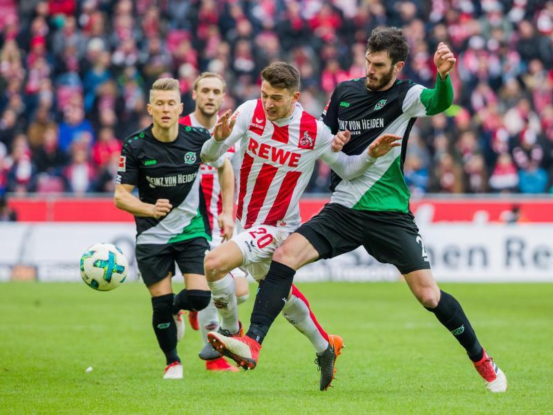 Bild zu 1. FC Köln - Hannover 96