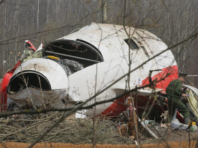 Bild zu Flugzeugwrack