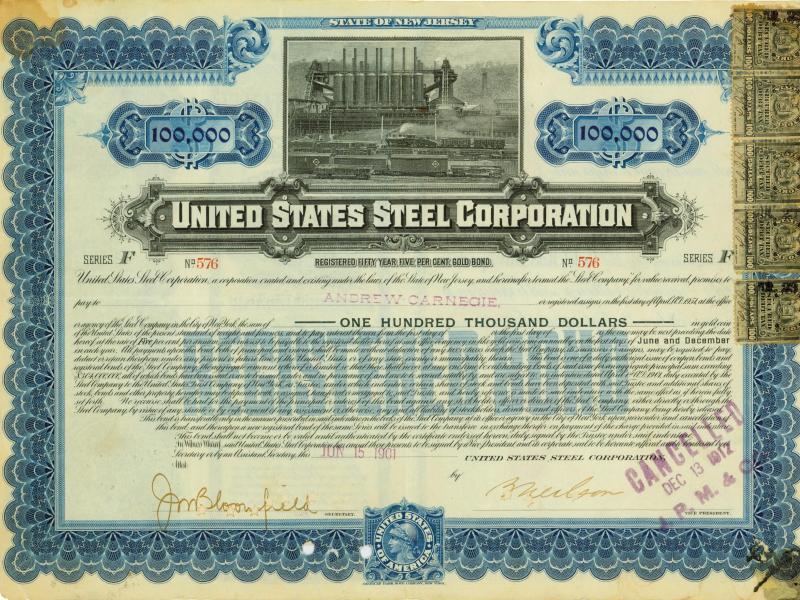 Bild zu Anleihe der United States Steel Corporation