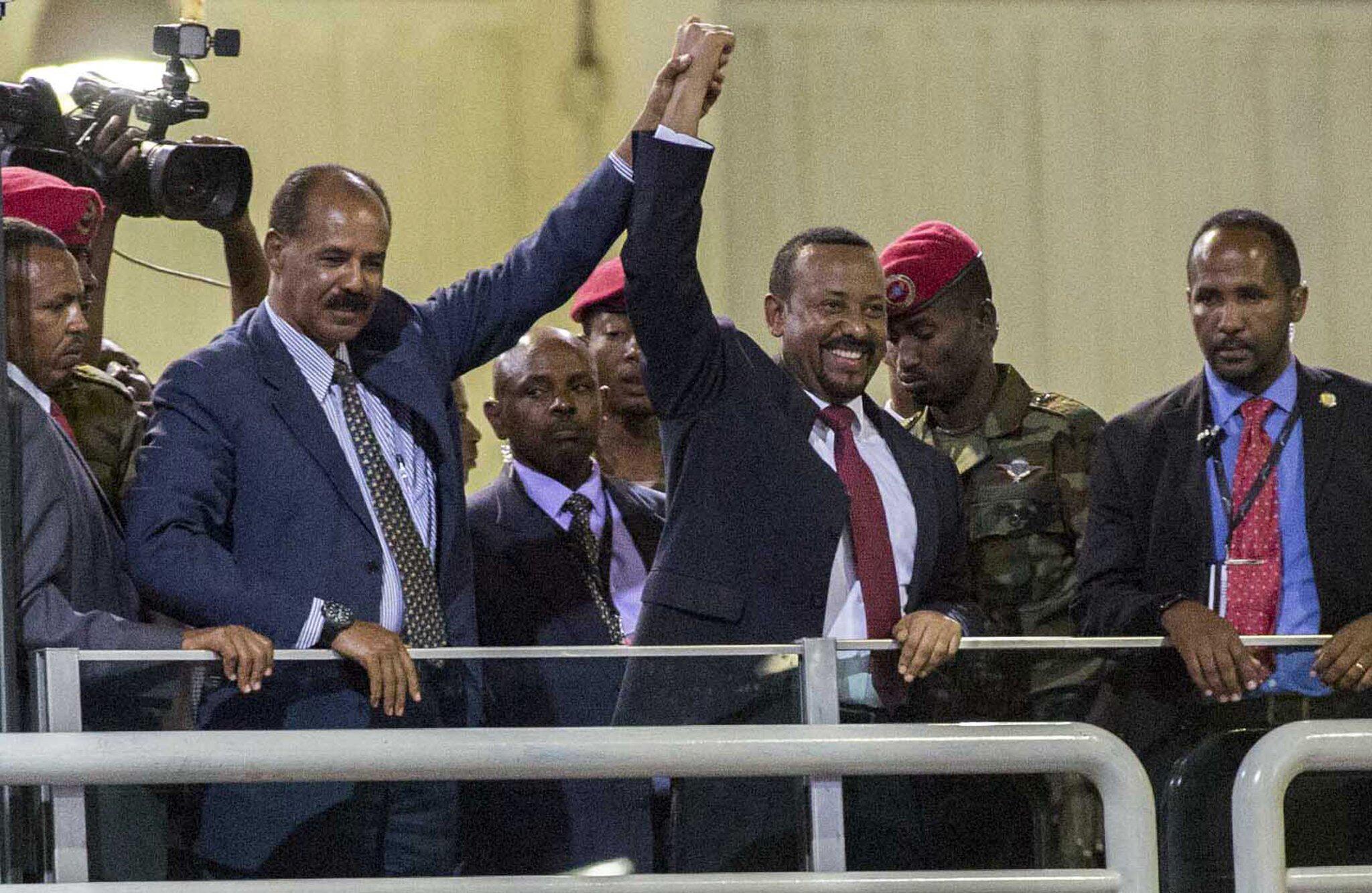 Bild zu Historischer Besuch von Eritreas Präsident in Äthiopien