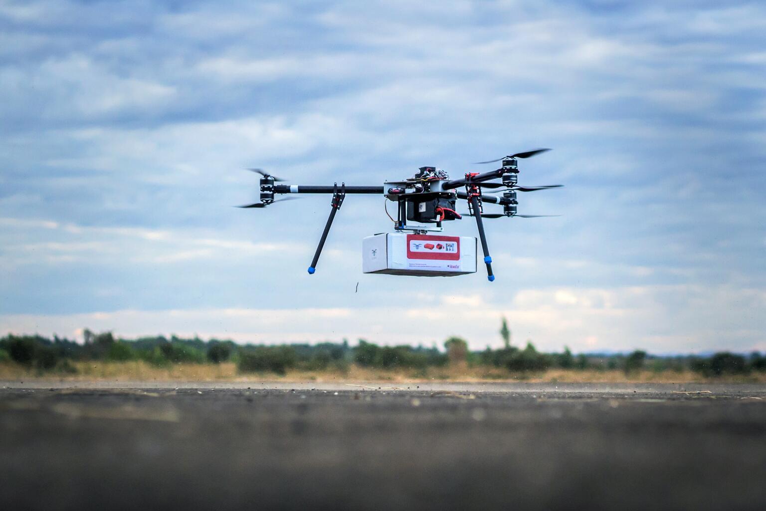 Bild zu Malawi, Drohne