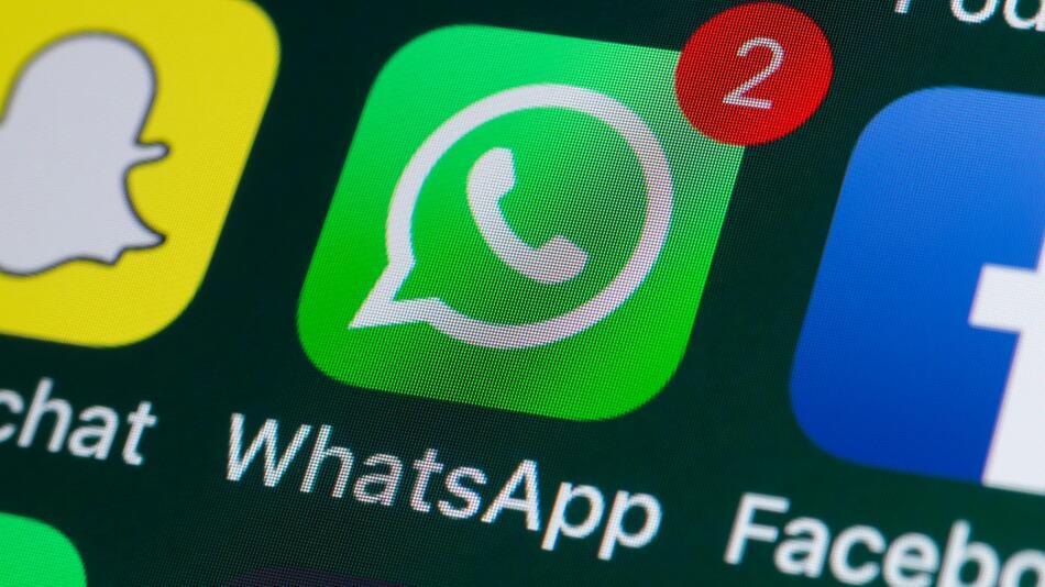 WhatsApp, Daten, Kontakte