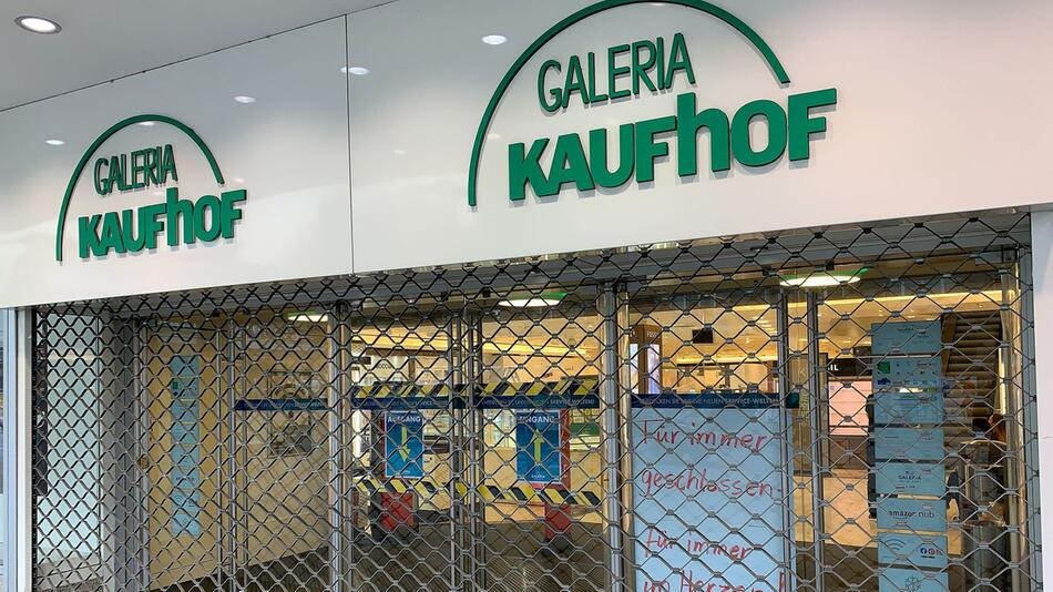 Kaufhof Filiale in Essen geschlossen