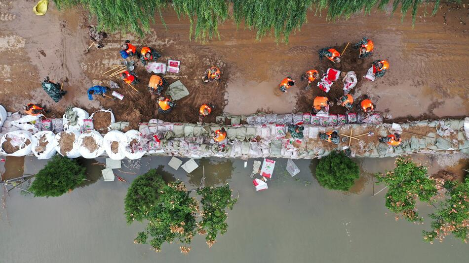 Überschwemmungen in China
