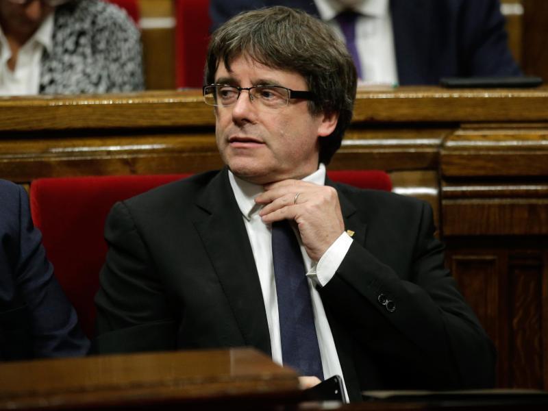 Bild zu Carles Puigdemont