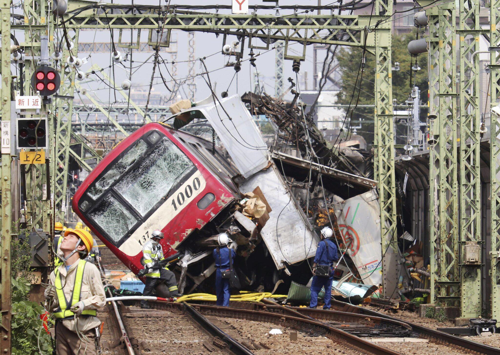 Bild zu Zugunglück in Japan