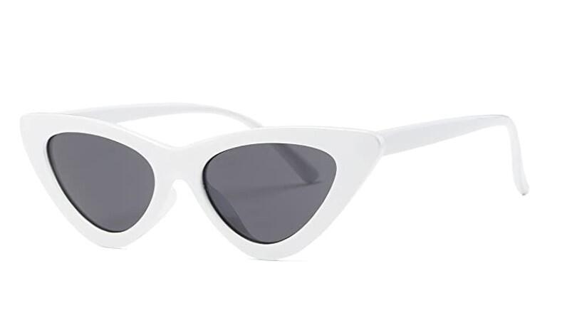 Sonnenbrillen, Trends, Sommer 2021, Retro-Look, weiße Sonnenbrillen, Modetrends, Accessoires