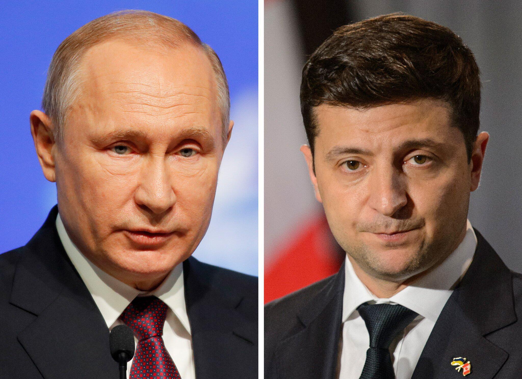 Bild zu Putin und Selenskyj