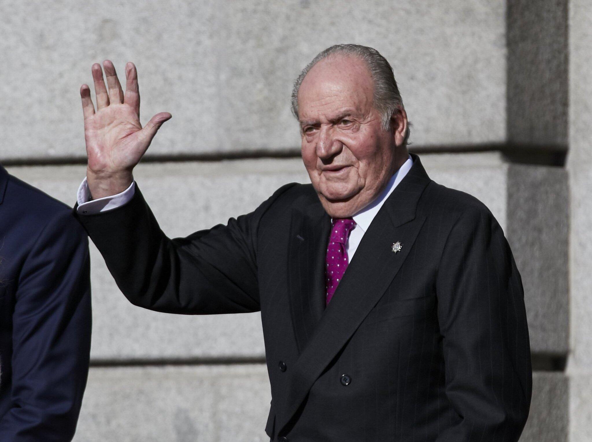 Bild zu Spaniens Ex-König Juan Carlos geht in Rente