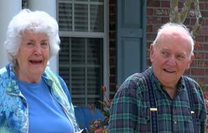Mann, Rentner, Ehefrau