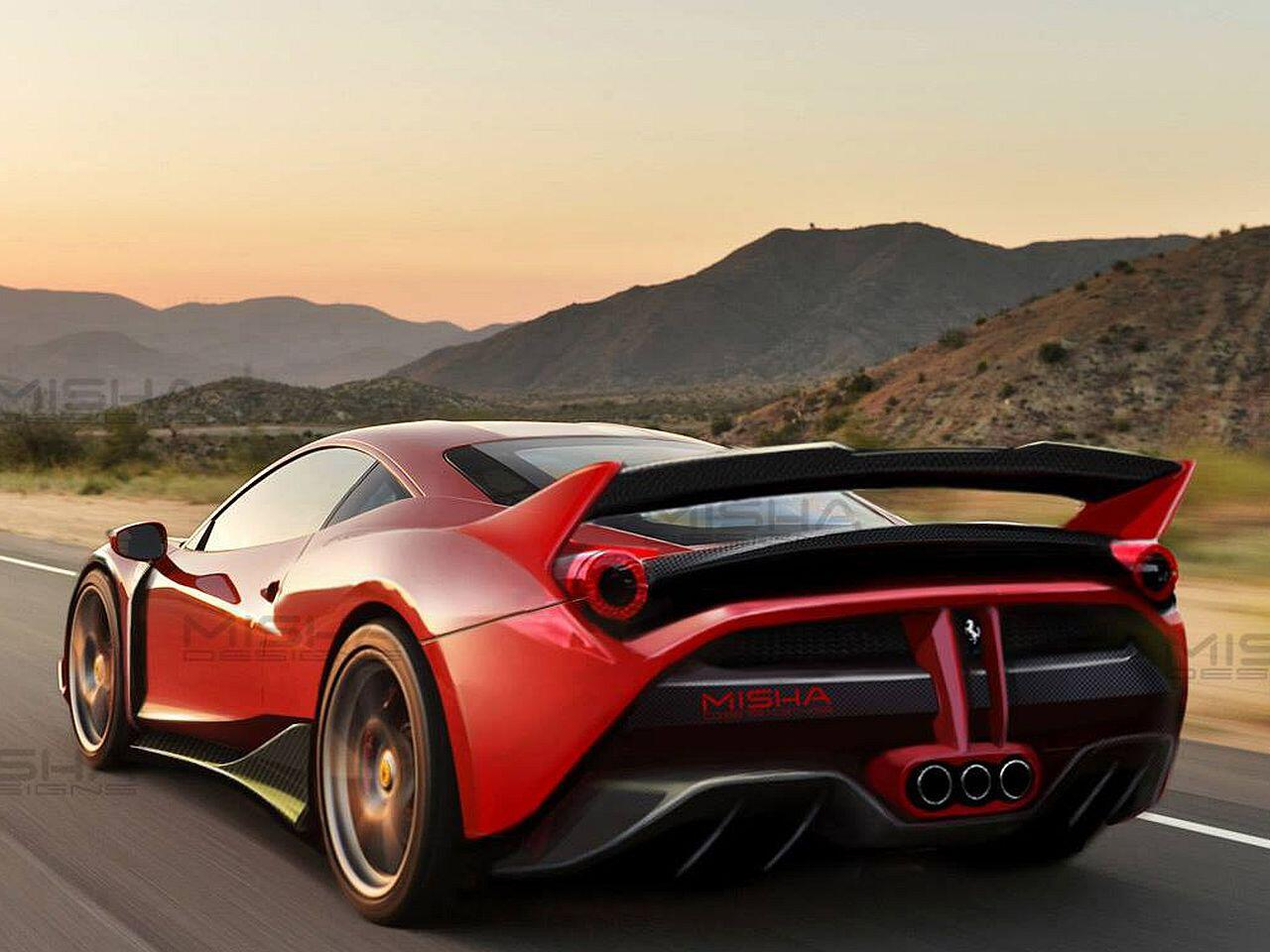 Bild zu Wilder Tuning-Bolide: Der Ferrari 458 von US-Tuner Misha Designs
