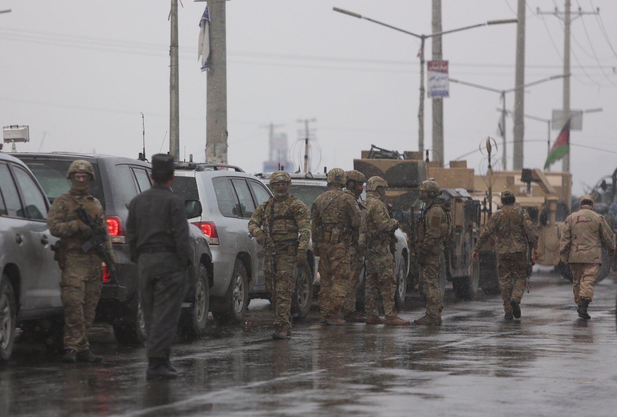 Bild zu Angriff auf Militärakademie in Kabul
