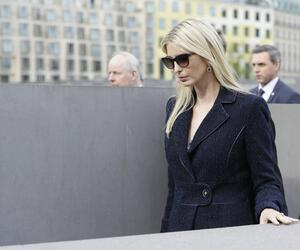 W20 Summit- Ivanka Trump visits Holocaust memorial