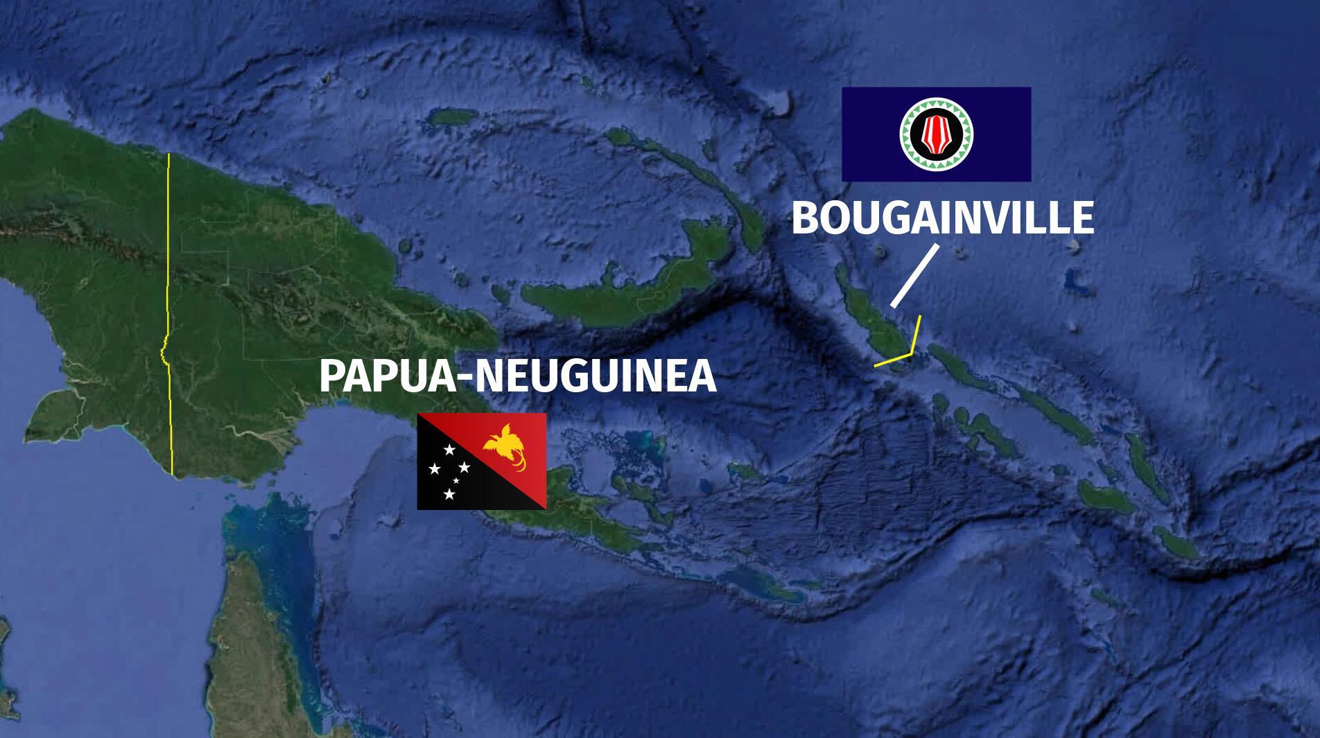 Bild zu Bougainville Referendum
