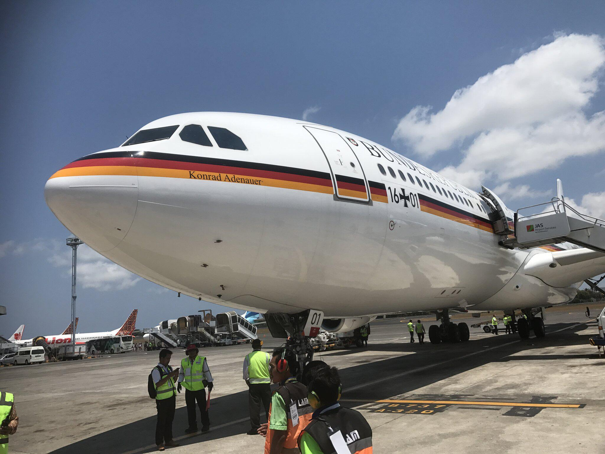Bild zu Airbus «Konrad Adenauer»