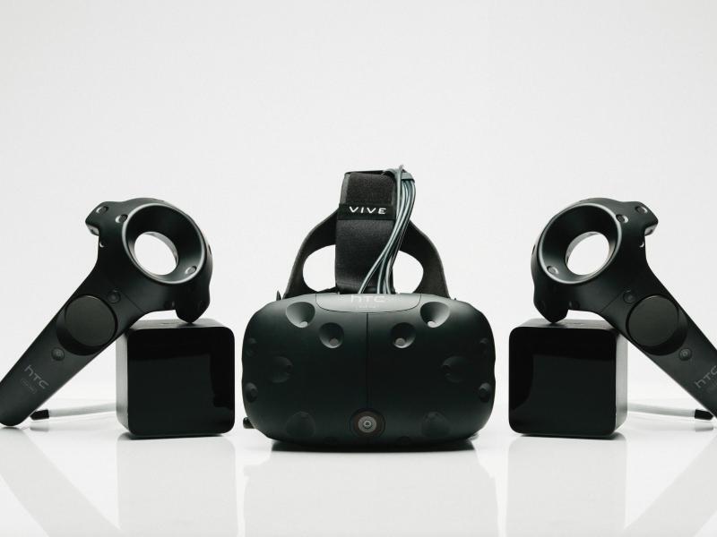 Bild zu VR-Brille HTCVive