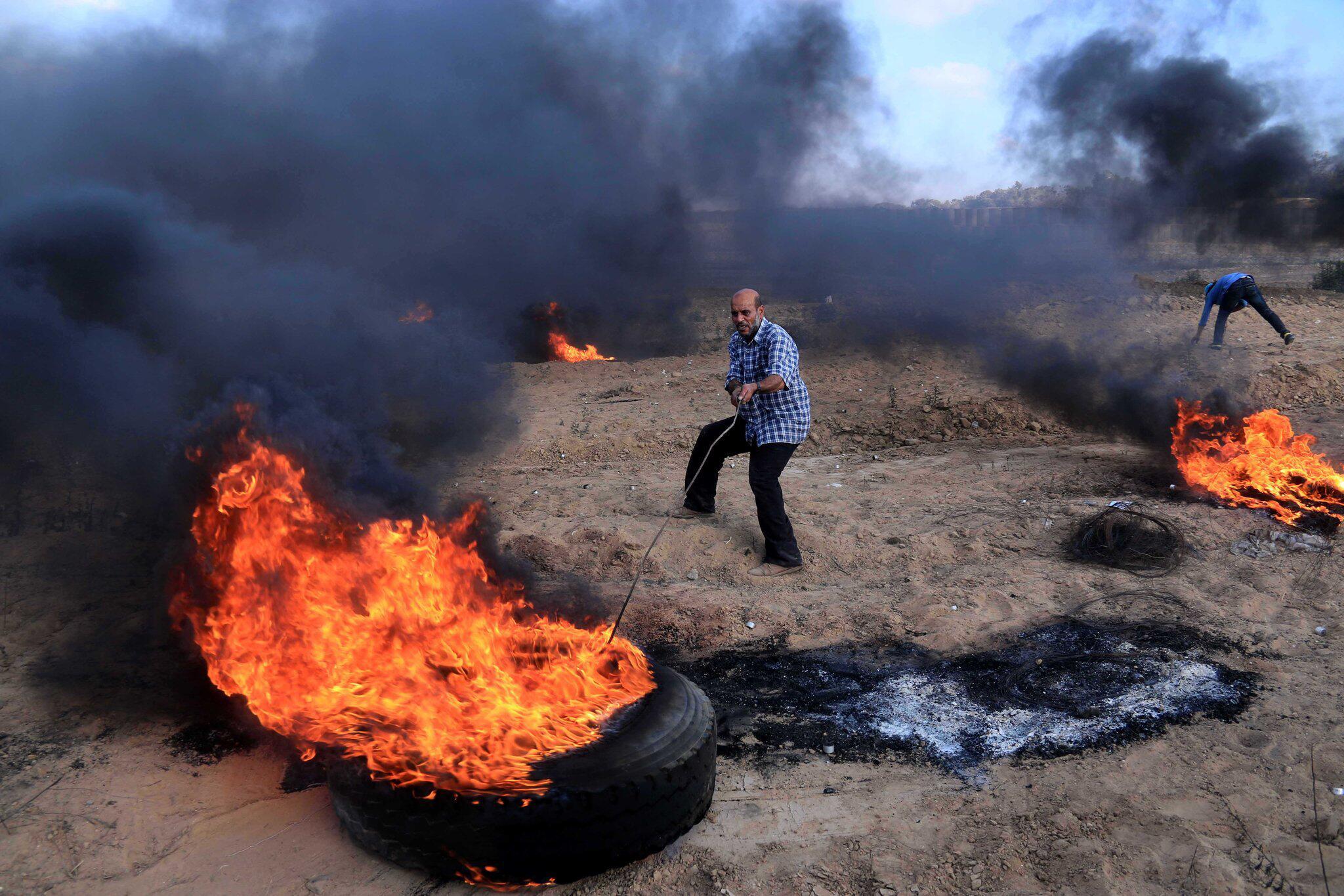 Bild zu Unruhen im Gazastreifen