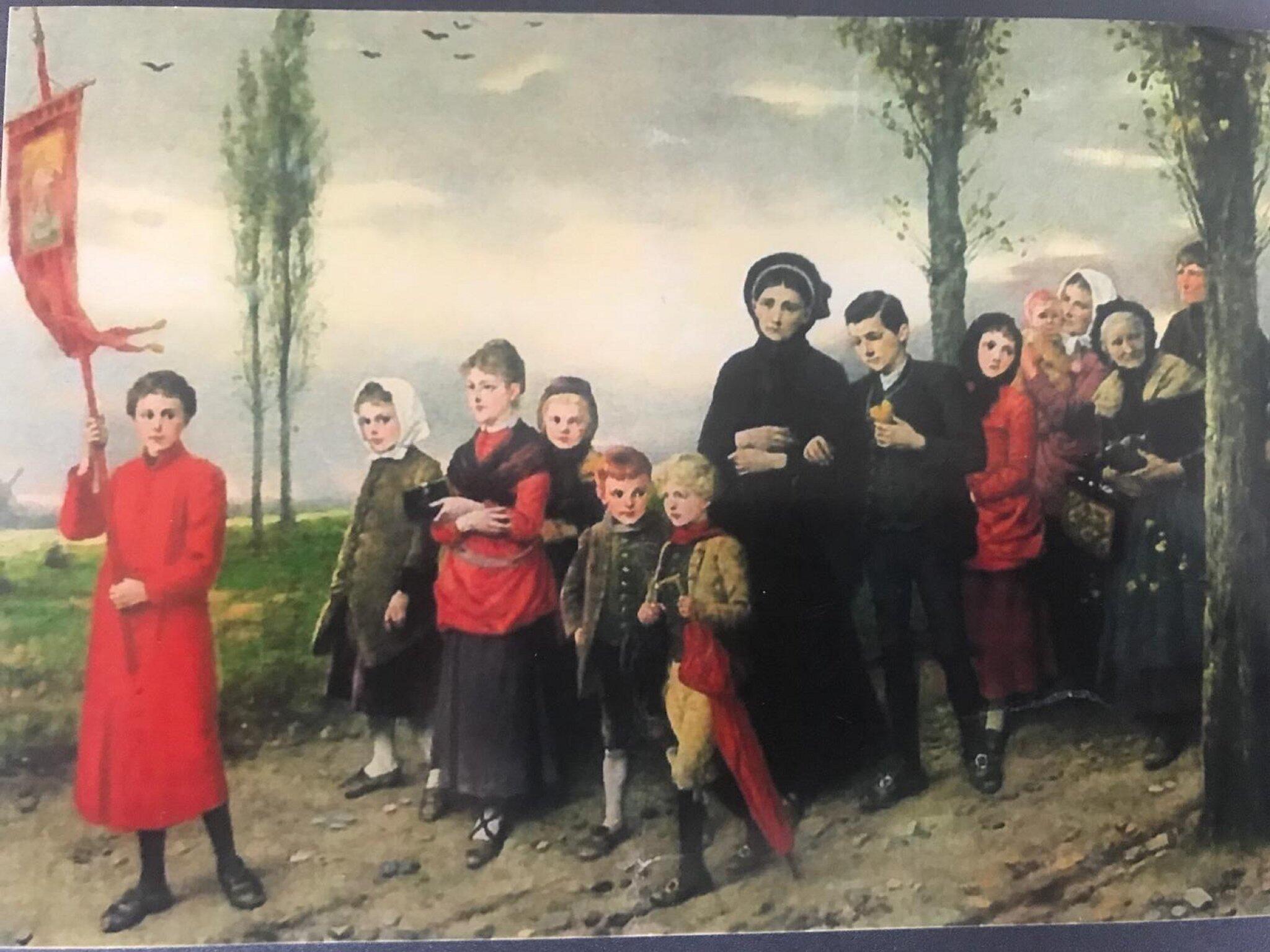 """Bild zu Gemälde """"Wallfahrt nach Kevelaer"""" gestohlen"""