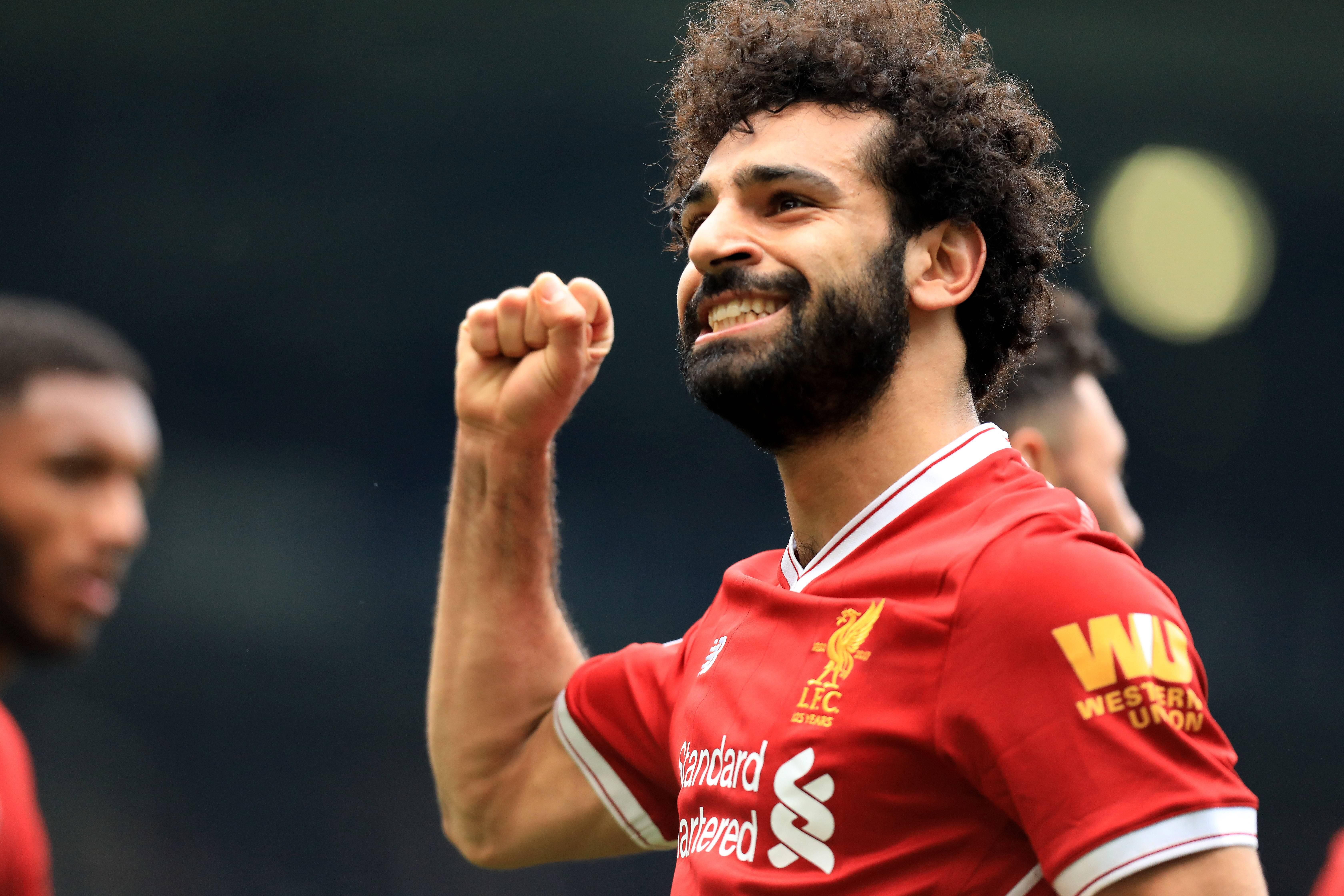 Bild zu FC Liverpool, Mo Salah, Champions League, Halbfinale, AS Rom