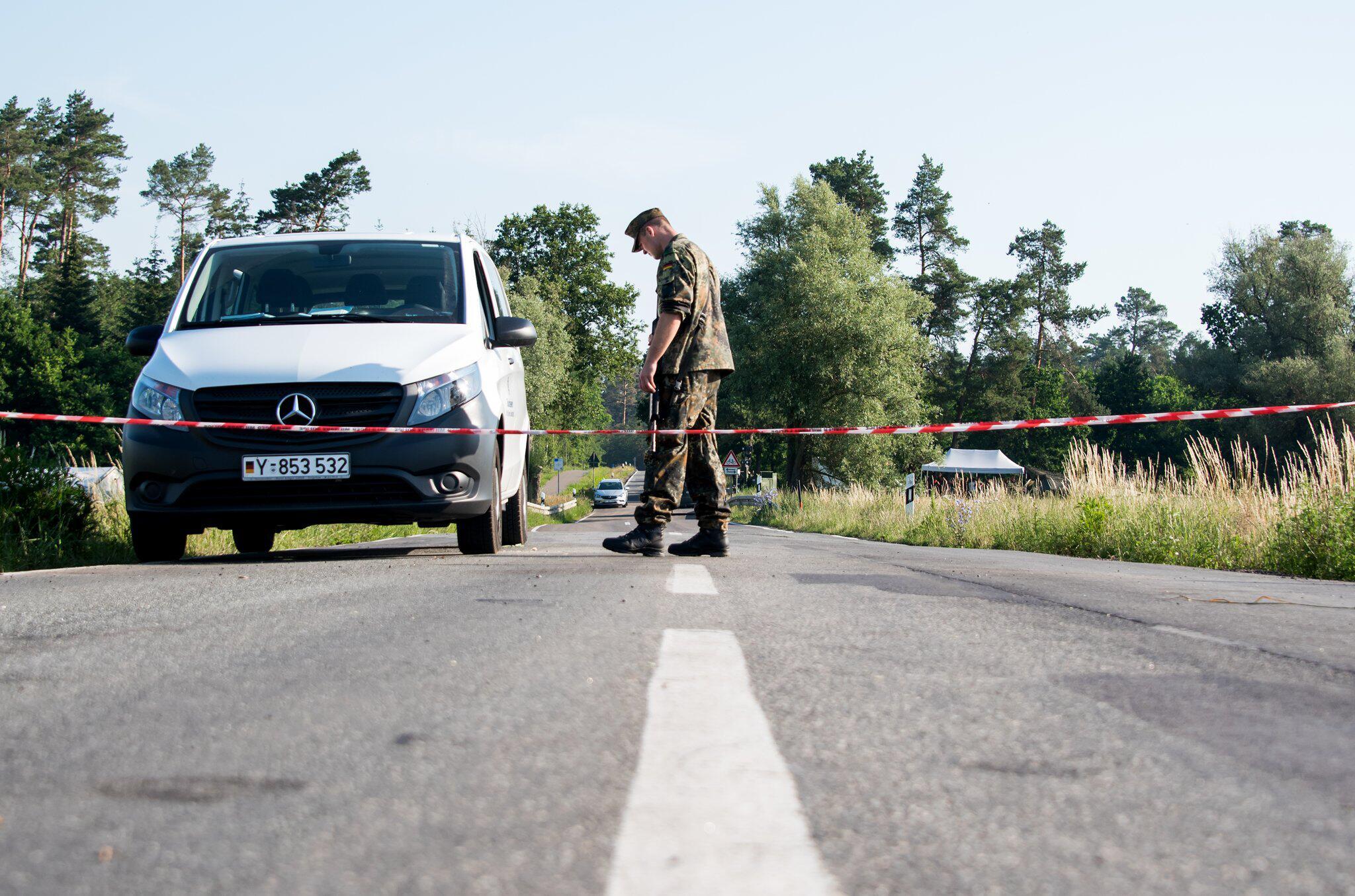 Bild zu After Eurofighter crash