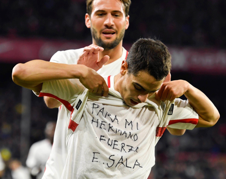 Bild zu Fußball, Spanien, Barcelona, Sevilla, Ben Yedder, Sala