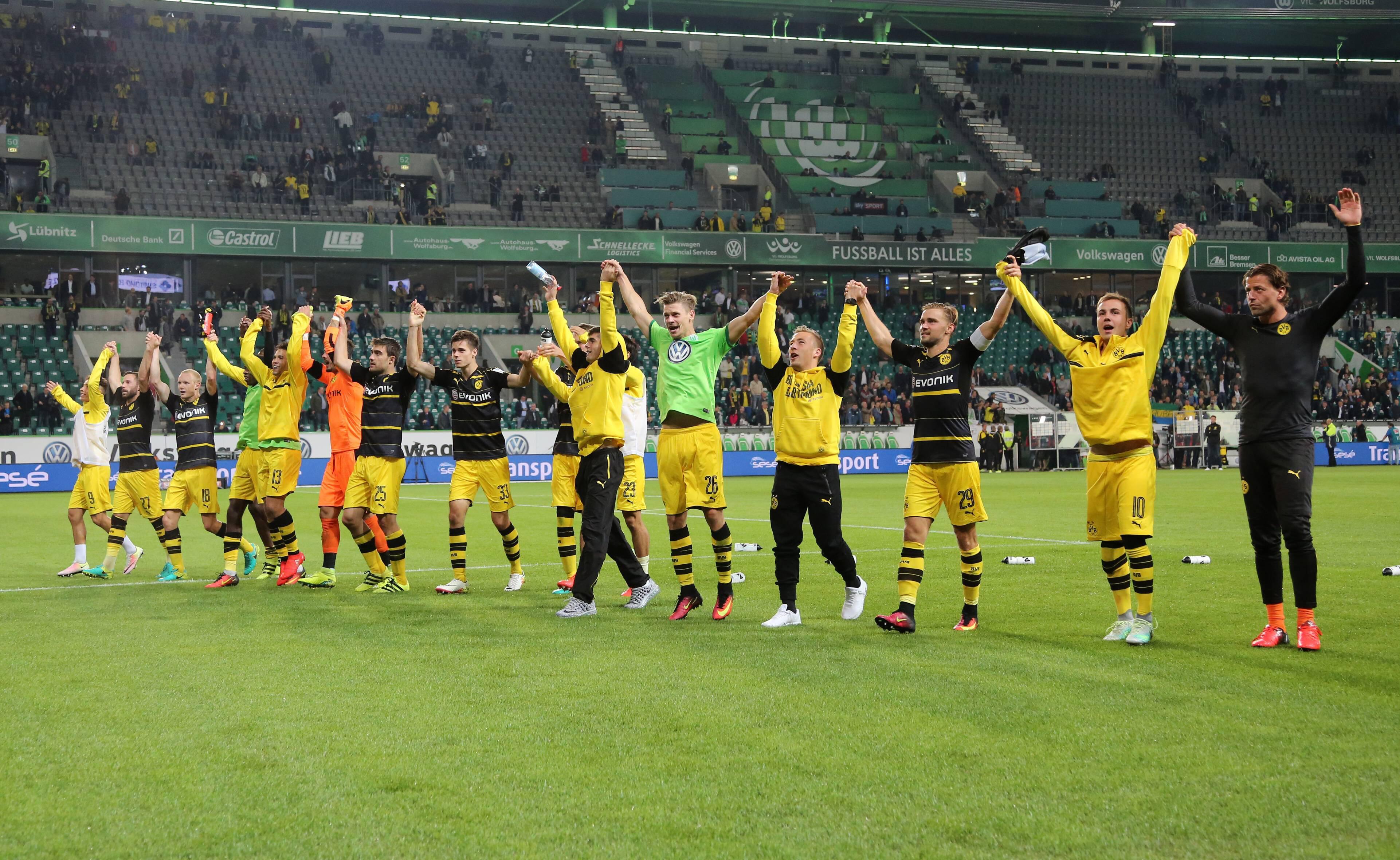 Bild zu BVB Borussia, VfL Wolfsburg, Bundesliga
