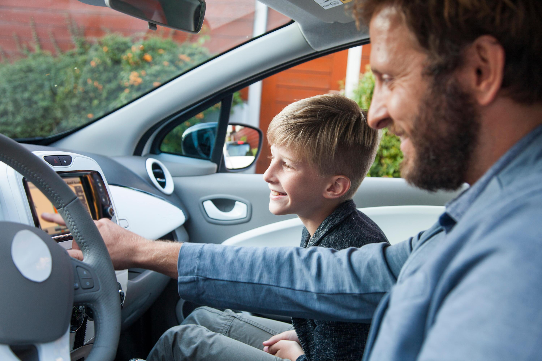 Bild zu Kind, Beifahrersitz, vorne sitzen
