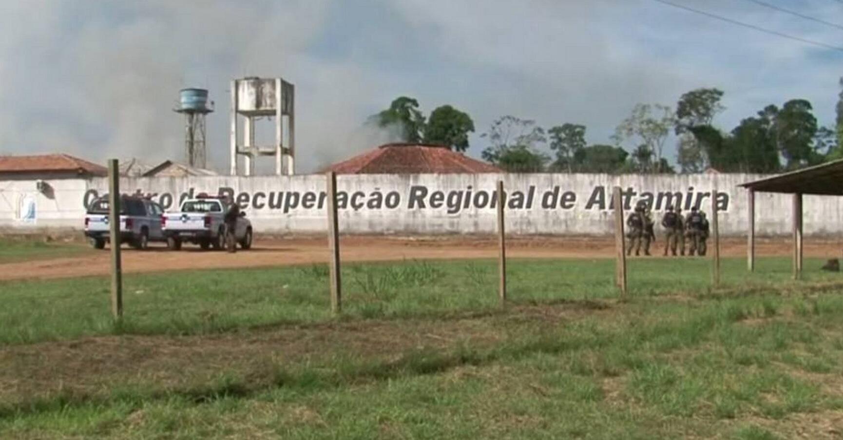 Bild zu Brasilianisches Gefängnis in Altamira