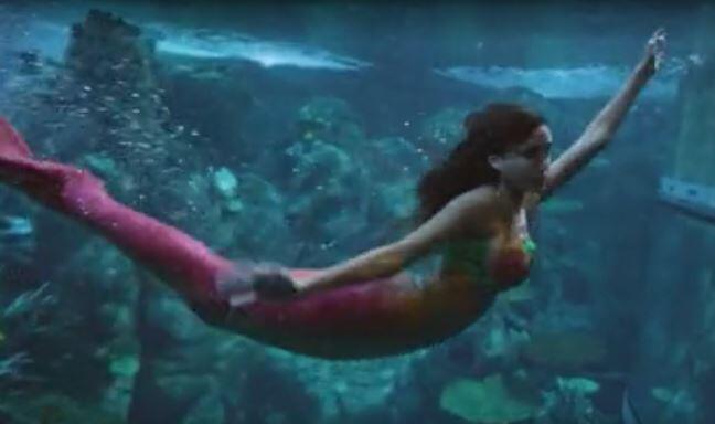 Bild zu GNTM 2018, Unterwasser, Shooting