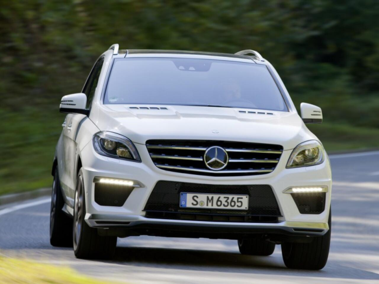 Bild zu Platz 2 - Modell: Mercedes-Benz ML 63 AMG