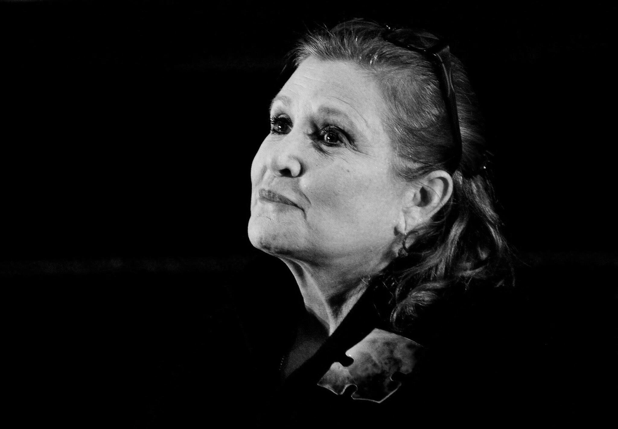 Bild zu Carrie Fisher died
