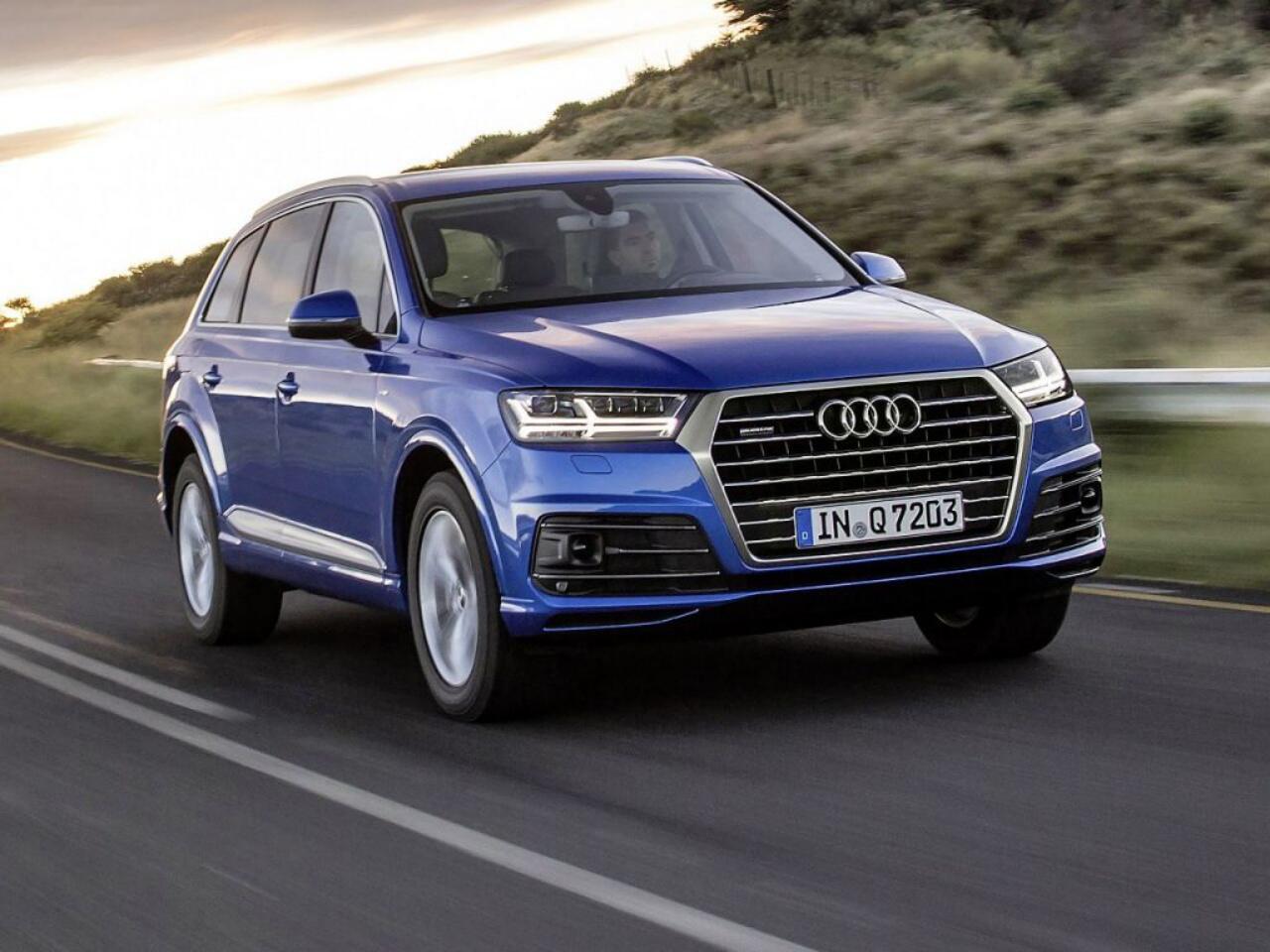 Bild zu Platz 1 - Modell: Audi Q7 3.0 TDI
