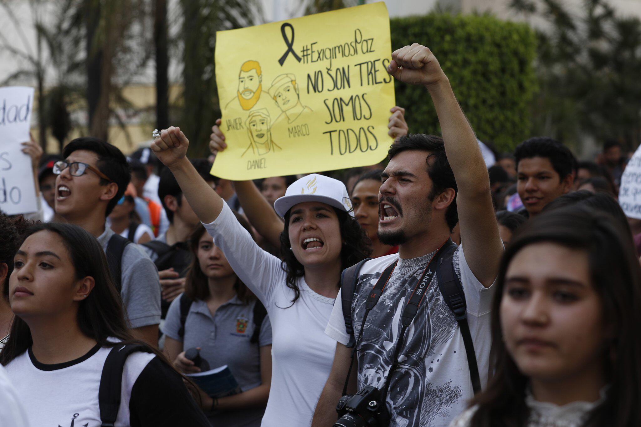 Bild zu Proteste nach Mord an Studenten