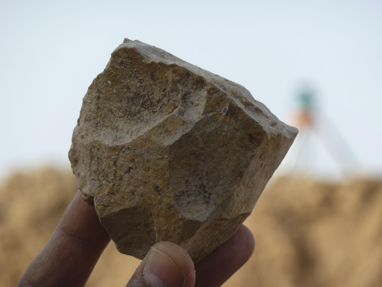 Bild zu Algerien, Sérif, Tierknochen, Steinwerkzeuge, Archäologie