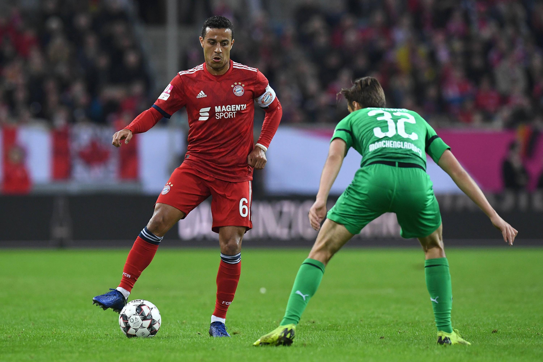 Bild zu Bayern, München, Telekom-Cup, Thiago, Gladbach, Bundesliga, Fußball